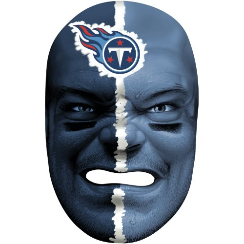 - Franklin Sports NFL Tennessee Titans Team Fan Face Mask