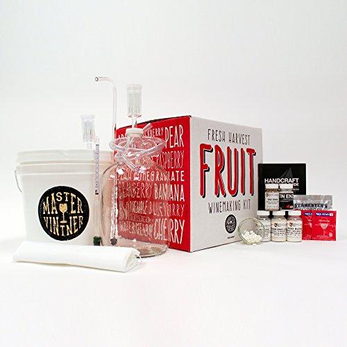 the 1 gallon fruit winemaking kit - 2