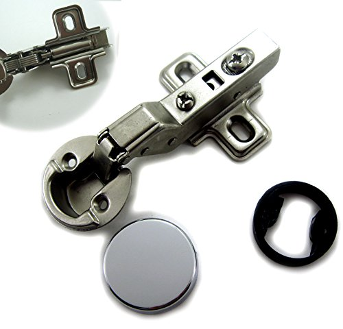 """Dia 1""""/26mm Hole Euro Hydraulic Soft Close Hinge for Cabinet Glass Door (Insert)"""