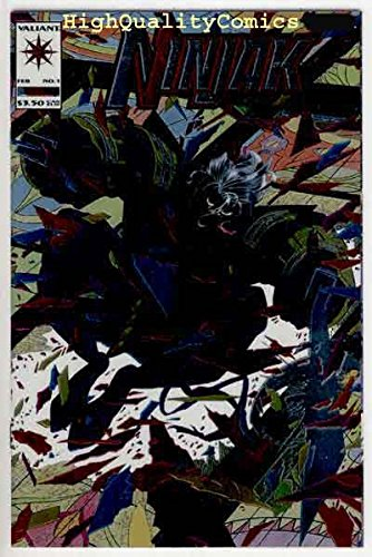 Amazon.com: NINJAK #1 2 3 4 5, NM, Ninja, Valiant, Martial ...
