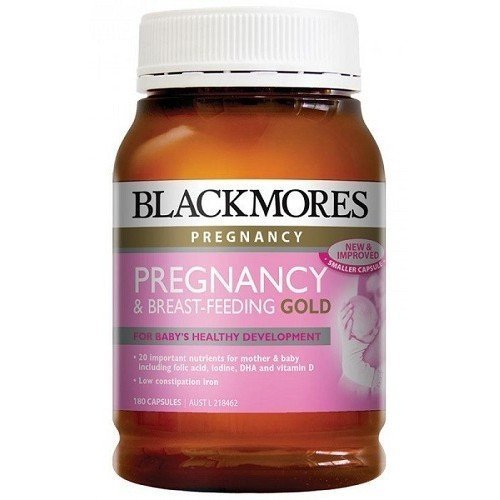 Blackmores Pregnancy And Breast-Feeding GOLD Formula 180 caps by Blackmores LTD