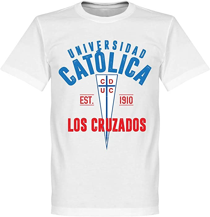 Universidad Catolica Established T Shirt Weiss S Amazon De Bekleidung