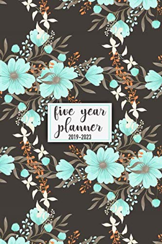 Five Year Planner: 2019 - 2023 Pocket Planner and Monthly Planner for 5 Year Plan | 60 Month Calendar with Federal Holidays