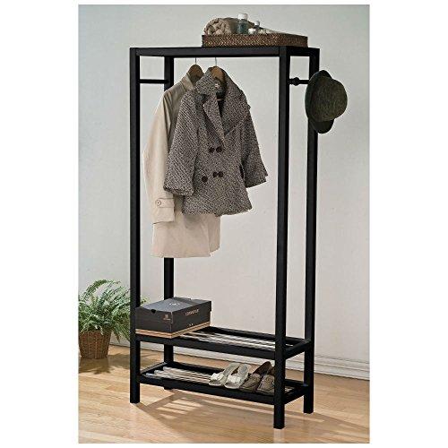 Maeve Wood Garment Storage Rack Houseware by Unbranded*