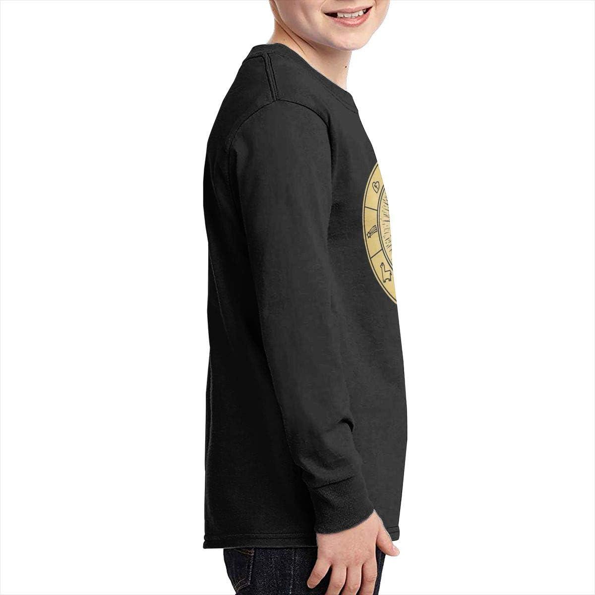 Optumus Gravity Falls Vintage Kids Sweatshirts Long Sleeve T Shirt Boy Girl Children Teenagers Unisex Tee