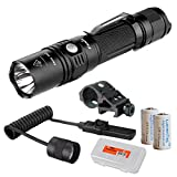 Tactical Weapon Light Bundle: Fenix PD35TAC (PD35 Tactical) XP-L 1000 Lumens Tactical Flashlight