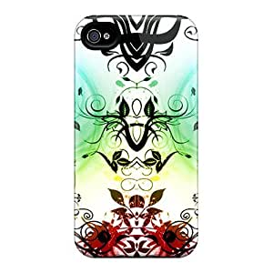 Special LauraKrasowski Skin Cases Covers For Iphone 6, Popular Trippy Hearts Phone Cases