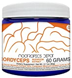 Cheap Cordyceps Mushroom Powder | 60 Grams | Cordyceps militaris | Organic Whole Fruiting Body Mushroom Extract | Supports Healthy Immune System