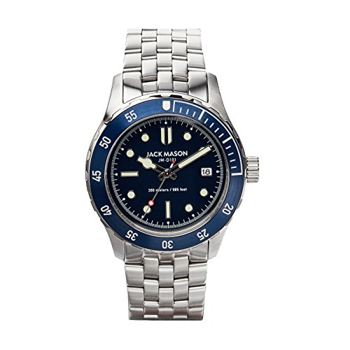 Diving 3H SS Navy Dial w/ SS Bracelet