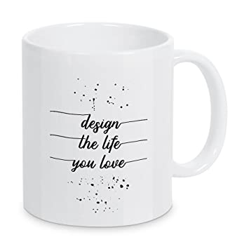 I love MELANIE Tasse Kaffeetasse