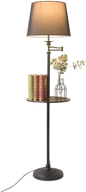 Bandeja de almacenamiento lámpara de pie 160cm simple nórdica ...