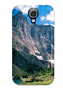 Awesome Glacier National Park Flip Case With Fashion Design For Galaxy S4