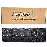 Padarsey Replacement Keyboard with Frame for HP Pavilion 17-E 17-E000 17-e100 17z-e000 17-e017cl 17-e017dx 17-e019dx 17-e020dx 17-e017cl 17-e017dx 17-e033ca 17-e033nr 17-e012sg 17-e020dx 17-e061nr 17-
