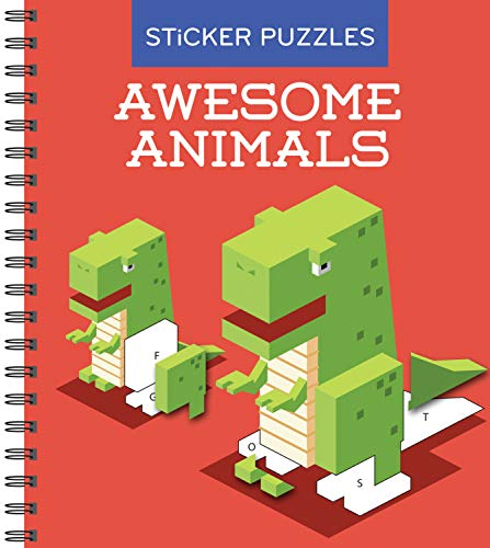 Sticker Puzzles: Awesome Animals