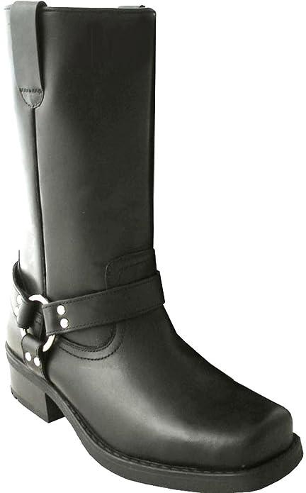 3dc9a9f333c Gringos - Botas estilo motero de cuero hombre  Amazon.es  Zapatos y  complementos