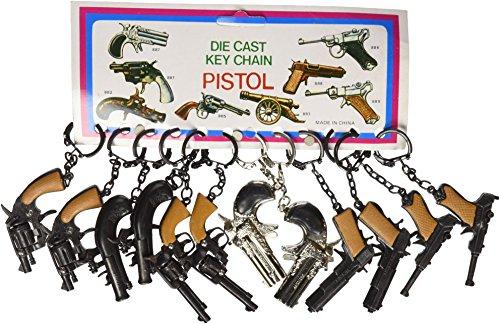 Gun Key Chains 1 dz