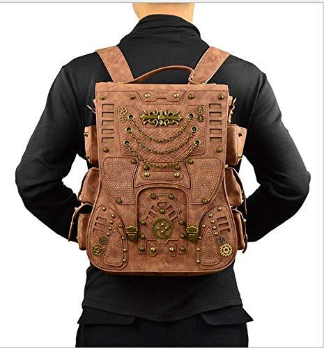 Zhang chen fu Männer und Frauen Punk-Outdoor-Reisen Punk-Outdoor-Reisen Punk-Outdoor-Reisen Rucksack Rucksack B07JGY366B Daypacks Geeignet für Farbe b85c14