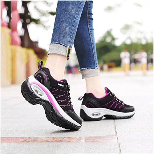Scarpe donna resistenti Sneakers sportive casuali trekking Scarpe Scarpe Scarpe all'usura da impermeabili Scarpe esterno da UN passeggio da donna da spesse da OngXS