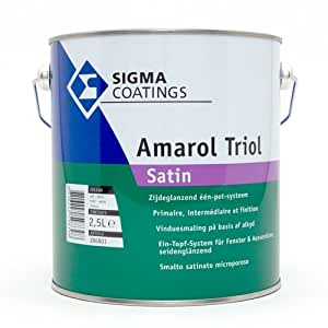 Sigma amarol triol satén 2,5 l), color blanco