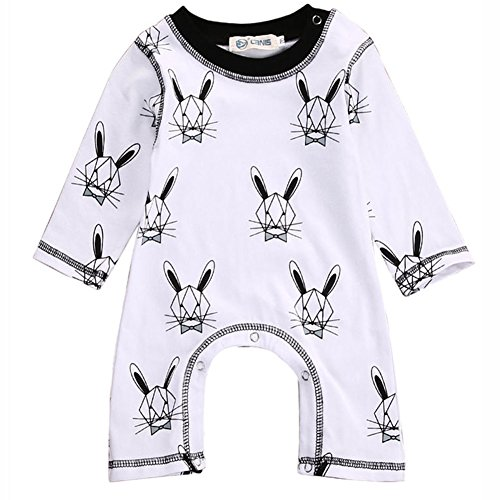 Cute Bunny Outfits (Cute Toddler Baby Girls Boys Rabbit Bunny Romper Jumpsuit Outfits Bodysuit One-pieces (3-6 Months))