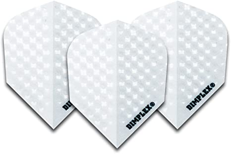 Harrows - 4 Sets de plumas para dardos (12 unidades), color blanco: Amazon.es: Deportes y aire libre