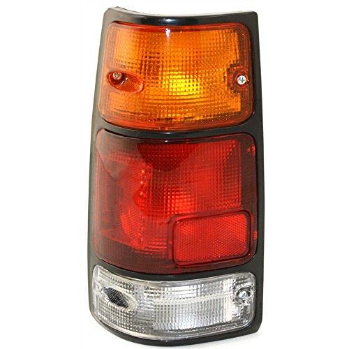 Evan-Fischer EVA15672012579 Tail Light for Isuzu Pickup 88-95 Passport 94-97 Assembly W/ Black Trim Left Side