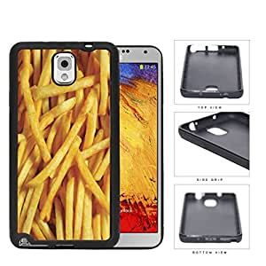 Golden French Fries Rubber Silicone TPU Cell Phone Case Samsung Galaxy Note 3 III N9000 N9002 N9005