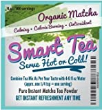 TEAki Hut Organic Matcha Green Tea Powder | Culinary Grade | Excellent Weight Loss Benefits | More Antioxidants than Green Tea Bags | Best for Making Matcha Tea, Smoothies, Lattes
