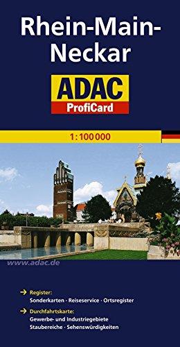 ADAC ProfiCard Rhein-Main-Neckar 1:100 000 (ADAC ProfiCard 1:100.000)