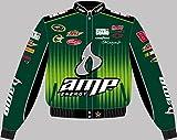Dale Earnhardt Jr. Amp Adult Green Twill Jacket