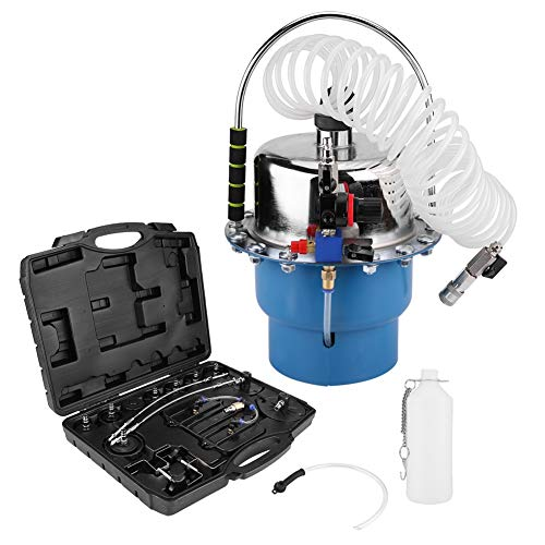 Brake Bleeder Adapter Set - Professional Power Brake Bleeder Kit, Air Pressure Pneumatic Brake Bleeding Tool and Clutch Bleeder Valve System Set