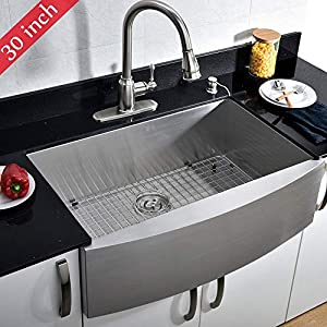 51c3qpJVmQL._SS300_ 75+ Beautiful Stainless Steel Farmhouse Sinks For 2020
