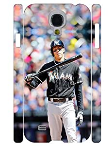 Absorbing Series Cell Phone Case Cute Person Baseball Player Designed Drop Proof Case Cover for Samsung Galaxy S4 I9500 (XBQ-0029T)