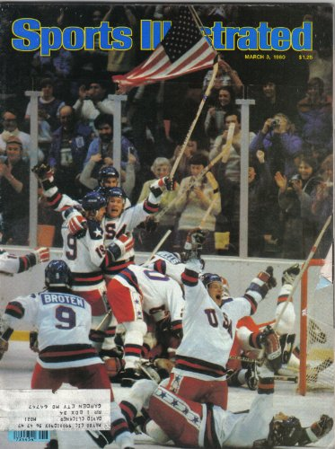 - Sports Illustrated Magazine (U.S.A. Miracle Hockey, March 3 , 1980)