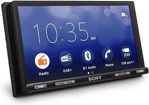 Sony Xav Ax5550d Headunit Car Radio 2 Din Usb Bluetooth Apple Carplay Web Link Auto