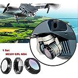 DZT1968 3pc/set outdoor MCUV CPL ND4 HD Thin non-metallic Camera Lens Filters For DJI MAVIC Pro Drone