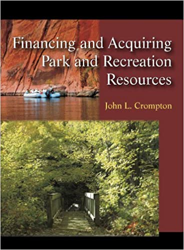 {* UPD *} Financing And Acquiring Park And Recreation Resources. removed consists Broken weeks leading
