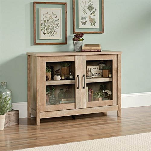 Sauder Cannery Bridge Display Cabinet, For TV's up to 42