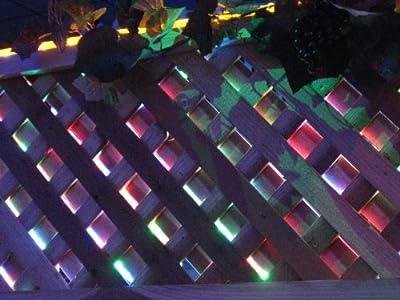 """CBConcept® 6.6 Feet 110V-120V 2-Wire 1/2"""" LED Rope Light, Christmas Lighting, Indoor / Outdoor rope lighting"""