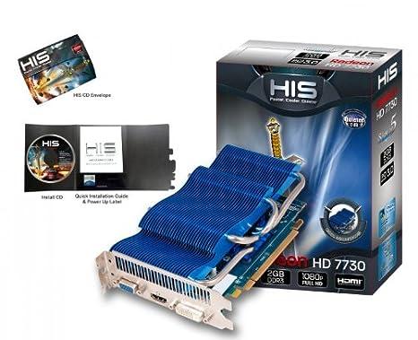 HIS H773PS2G Radeon HD7730 2GB GDDR3 - Tarjeta gráfica ...