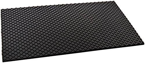 Rubber Cal Maxx Tuff Heavy Duty Protective Mat Black