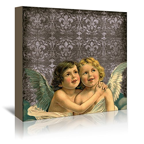 Americanflat Gallery Wrapped Canvas - Faith Angel Love - Square - Wonderful Dream, 30'' x 30'' by Americanflat