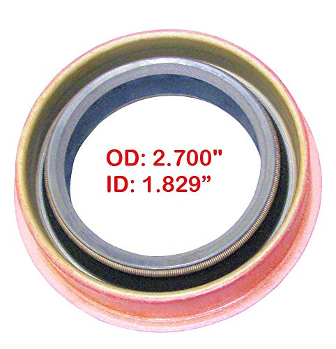 Oil Seal, Metal Clad, Rear Case, 2.70