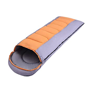 Zhhlaixing Saco de Dormir para Acampar Mochilero - Impermeable Extra Largo Ligero Portátil Camping Sleeping Bag para Caminatas Viaje Acampar Senderismo: ...