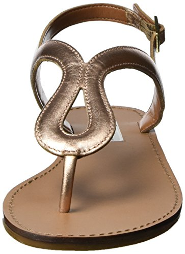 Steve Madden Takeaway Slipper, Sandalias Planas Mujer Dorado (Rose Gold)