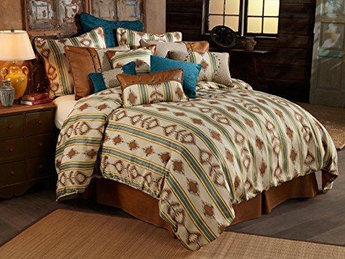 HiEnd Accents Alamosa Western Bedding Set, Twin