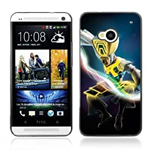 Designer Depo Hard Protection Case for HTC One M7 / Jumping Warrior