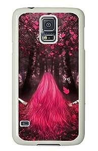 Love Magic White Hard Case Cover Skin For Samsung Galaxy S5 I9600