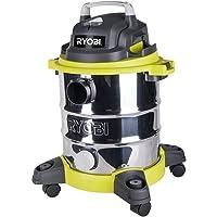 Ryobi 20L Stainless Steel Wet Dry Workshop Vacuum - RVC-1220I-G