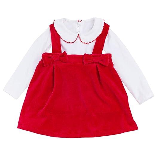 SPFAZJ Nuevo niña Manga Larga Camiseta Honda Falda Conjunto para ...